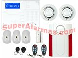 KIT DE ALARMA SAFEMAX i20 CONEXIÓN IP UNIFAMILIAR