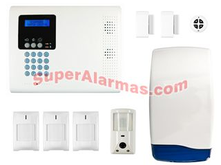 Kit de alarma COMPLETE SuperSure V3 cámara integrada